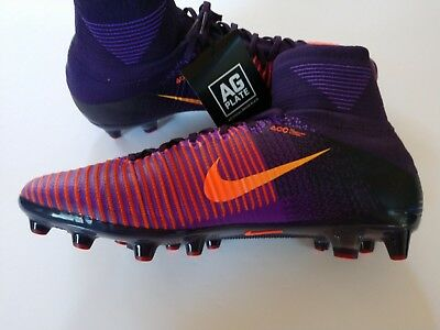 check out aef2f 60d7c Nike Mercurial Superfly V AG-PRO Mens 11.5 Purple Soccer Cleats 831955-585