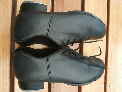 Capezio Tap Shoes - Child size 6.5 - Black Leather