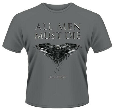 Game Of Thrones 'All Men Must Die' T-Shirt - NEW & OFFICIAL
