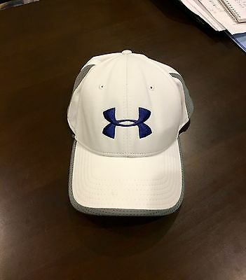 9e15e6b0654 UNDER ARMOUR COLDBLACK white golf cap - L XL -  14.99