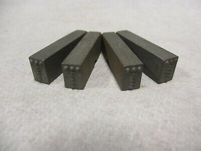 """W1//4C Letter W Machine Made Individual Steel Stamps 1//4/"""" Letter Height 5 Pcs"""