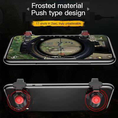 For PUBG Baseus L1 R1 Mobile Phone Game Shooter Controller Trigger/Fire Button