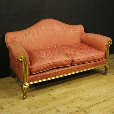 Sofa golden furniture living room wooden antique style armchairs chairs antique