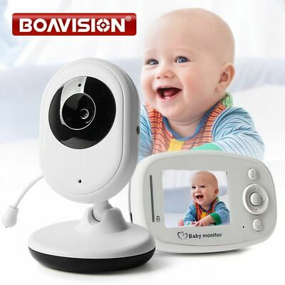 2.4 Color Video Wireless Baby Monitor Night Light Babyphone Security Camera Talk