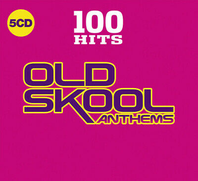 Various Artists - 100 Hits: Old Skool Anthems / Various [New CD] Boxed