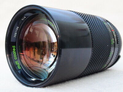 SUPERB CHINON 200mm F2.8 M42 LENS CAN FIT PENTAX K, CANON EOS, EF, DIGITAL