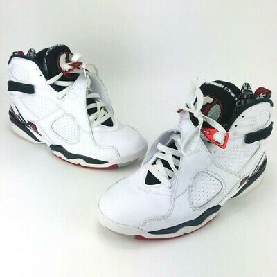 sports shoes 4a4b4 d5ee4 Nike Air Jordan 8 Retro VIII Alternate Collection White Red 305381-104 Size  11