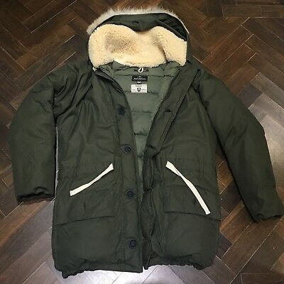 091fb7ea7f0c Nigel Cabourn Everest Parka Army Green Military Ventile Coyote Fur Sz50