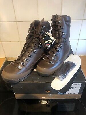 Airsoft Karrimor Brown Army Issue Boots 9m Goretex Wet Weather Uksf