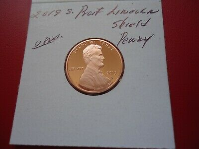 2019 S Proof  Uncirculated  Lincoln Shield   Penny
