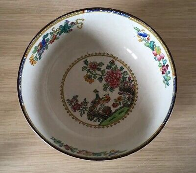 VINTAGE COPELAND SPODE'S ENGLAND Bird And Flowers Bowl 8 Inches