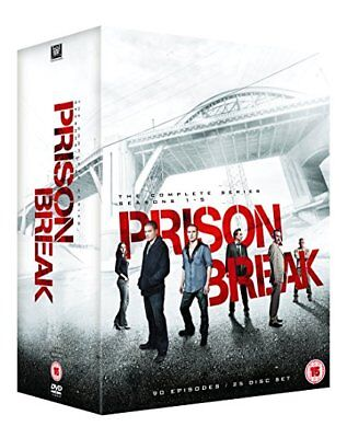Prison Break Staffel 1,2, 3,4, 5 - Complete 25 DVD Box-Set -