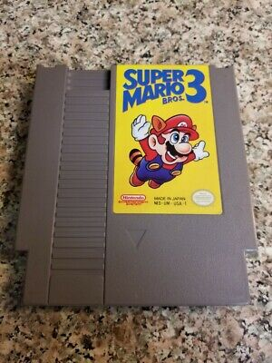 Nintendo NES Super Mario Bros 3  *AUTHENTIC* *FREE SHIPPING*
