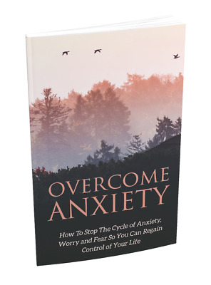 Anxiety PDF Digital Book How to Overcome Anxiety