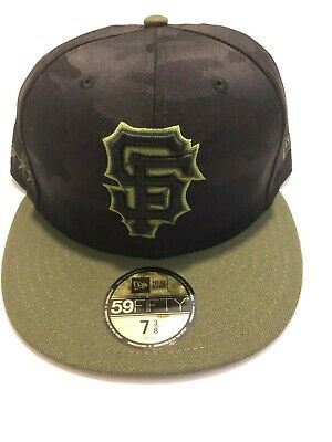 huge selection of 38978 1d0e8 San Francisco Giants New Era 2018 Memorial Day Fitted Hat Cap 59FIFTY MLB 7  3