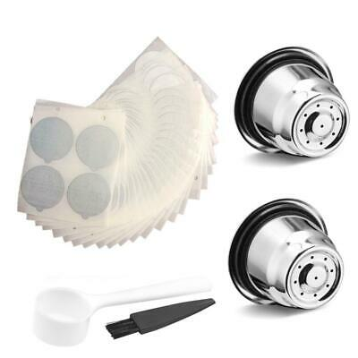 Stainless Refillable Reusable Coffee Capsule Strainer Pod For Nespresso Coffee