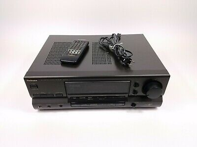 Technics SA-G76 Stereo Receiver With Remote And Power Cable Tested Working