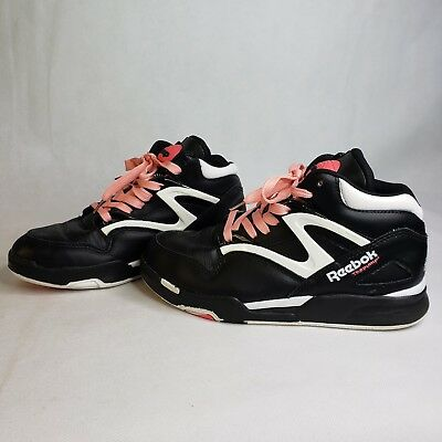 Reebok The Pump Hexalite Girls Size 6.5 Black Pink Basketball Sneakers  Vintage fd00ad819