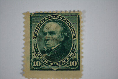 US Stamps Scott#226 10c Webster Unused NG Thin  Scott 226 New