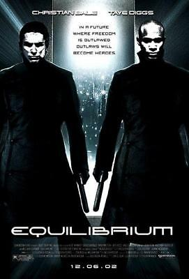 Equilibrium | $1.88 DVD | $4.00 Flat Rate Shipping