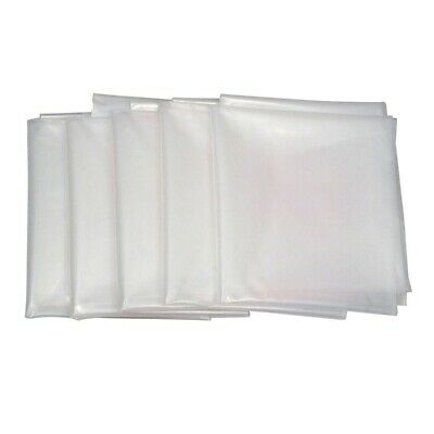 Powertec 5 Pack Clear Plastic Dust Collection Collector System Bag 20 x 43 in