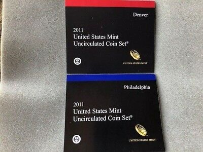 2011 PD US Mint Uncirculated Coin Set