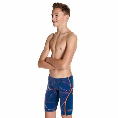 Speedo-Junior Jammers-Fastskin Junior LZR Racer X Jammer-Blue