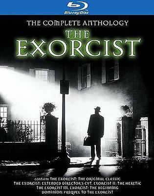 DVD: The Exorcist: The Complete Anthology [Blu-ray], . Very Good Cond.: Kitty Wi