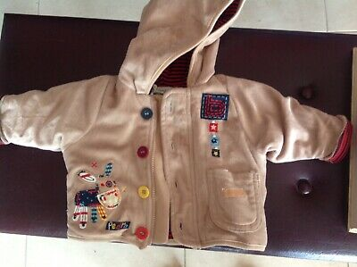 Cute Little boy's velour jacket