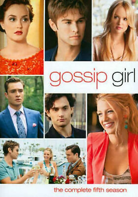 Gossip Girl: The Complete Fifth Season (DVD, 2012, 5-Disc Set) - Good