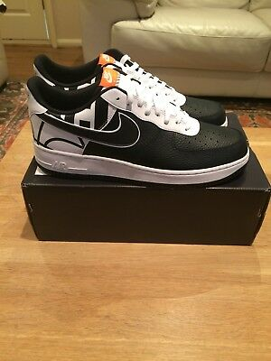 outlet store c78f9 1c722 Nike Air Force 1 07 LV8 Black And White Uk 12 not CR7 scarface scar face