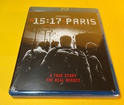 The 15:17 to Paris (Blu-ray Disc) Brand NEW(Sealed)-Free Shipping with Tracking