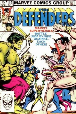 Defenders (1st Series) #119 1983 VG Stock Image Low Grade
