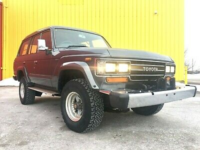 1988 Toyota Land Cruiser HJ61 1988 Toyota Land Cruiser HJ61 Turbo Diesel  High Roof Automatic Japanese Import