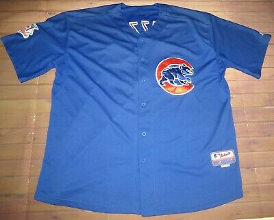 f6fff0dc05d Chicago Cubs Anthony Rizzo  44 MLB Baseball Sewn Jersey Sz 56 Majestic Cool  Base
