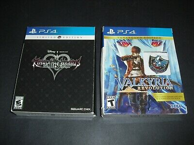 Kingdom Hearts HD II.8 2.8 & Valkyria Revolution Limited Vanguard Complete PS4!