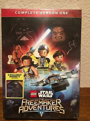 LEGO Star Wars: The Freemaker Adventures - Complete Season One (DVD, 2016,...