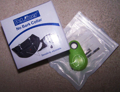 Anti Bark No Barking Shock Control Training Collar for Small to Medium Dogs with