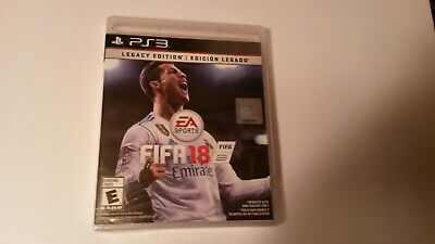FIFA 18: Legacy Edition PS3 Sony 2018 (Brand New, Sealed)
