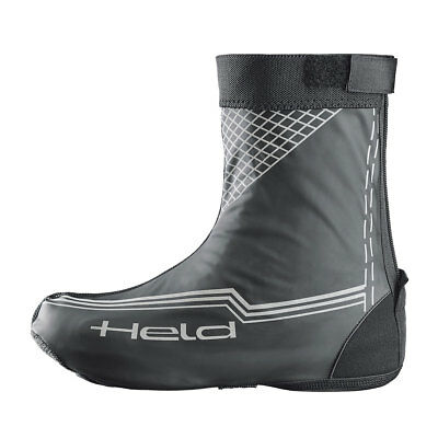 Held Skin Short Matt Black Motorrad Motorcycle Motorbike Over Boots All Sizes