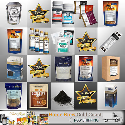 Distilling: Consumables + Parts - Bulk Buy Packs [3] [5] [10] [15] [20]
