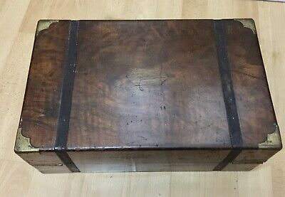 Antique Victorian Writing Slope / Writing Box - Original Untouched - Ok Conditon