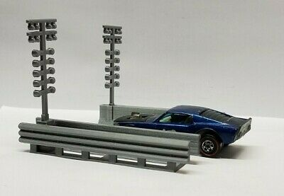 164 S Scale Diorama Nhra Drag Racing Staging Lightschristmas Tree