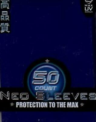50 Alpha Silver Max Protection Card Protection Neo Sleeves MINT