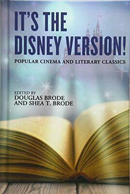It's the Disney Version Popular Cinema and Literary Classics by , NEW Book, FR