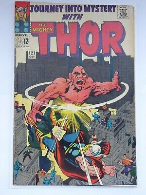 Journey Into Mystery #121_Oct 1965_Fine 6.0_Mighty Thor_Absorbing Man!