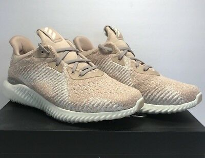 c69a782ce Adidas Women s Size 9.5 Alphabounce 1 Ash Pearl White Athletic Running  Shoes New