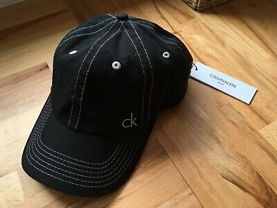 1990f6bbbfa CALVIN KLEIN GOLF Mens CK Vintage Microfibre Cap Adjustable Hat ...