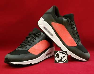 Nike Air Max 90 Ns Gpx Black Bright Crimson Running Shoes ( Aj7182 003 )  Size 49c1cf3f1