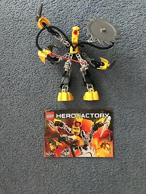 Lego Hero Factory Villains 6229 Xt4 Complete With Instructions